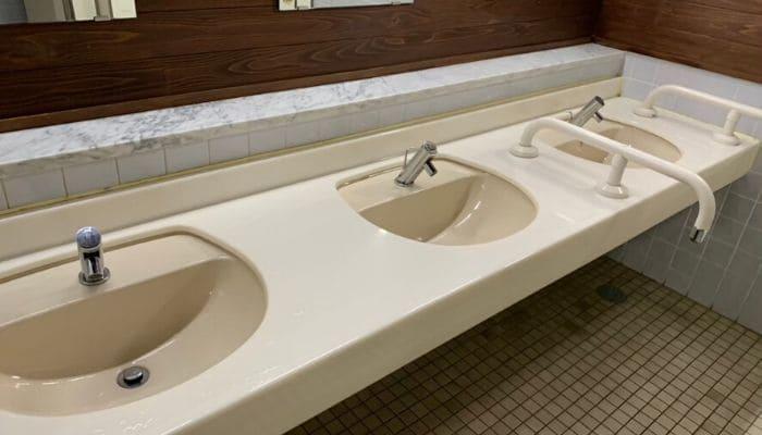 道の駅第9の里のトイレ