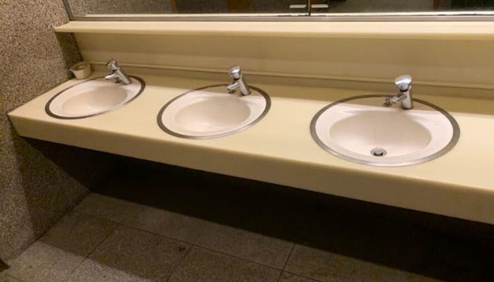 日吉夢産地のトイレ