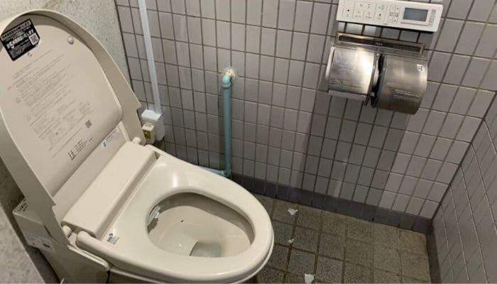道の駅桃山天下市のトイレ