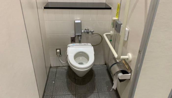 道の駅いとだのトイレ