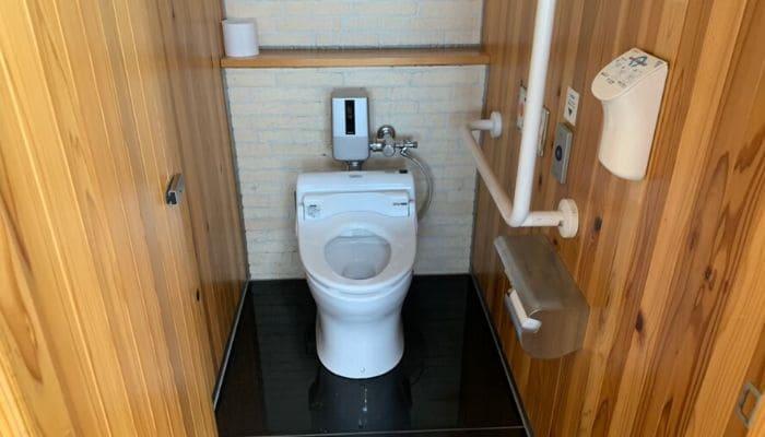 道の駅もっくる新城のトイレ