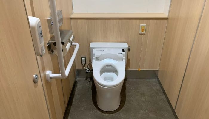 道の駅西いなば気楽里のトイレ